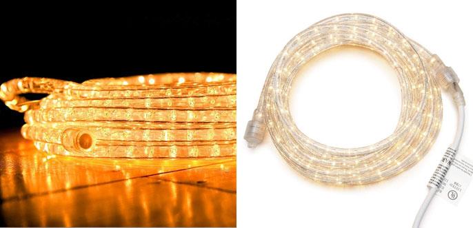 4.Darice LT-Tube 18ft LED Light Rope