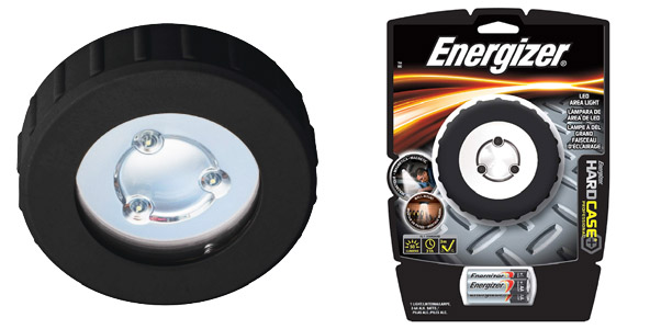 4. Energizer Hard Case Battery Powered Light