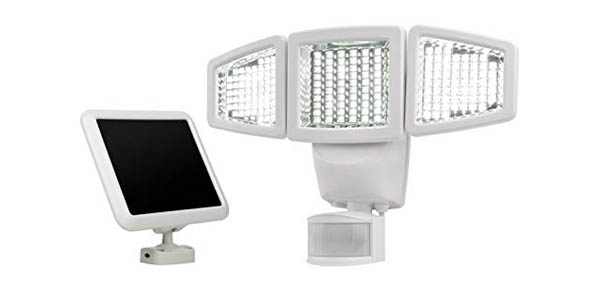 4.Sunforce 82183 Motion Sensor Flood Light