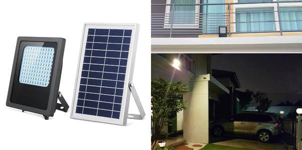 5.SunBonar 120 LED Outdoor Solar Flood Light