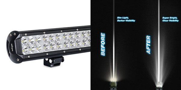 6. Nilight LED Light Bar