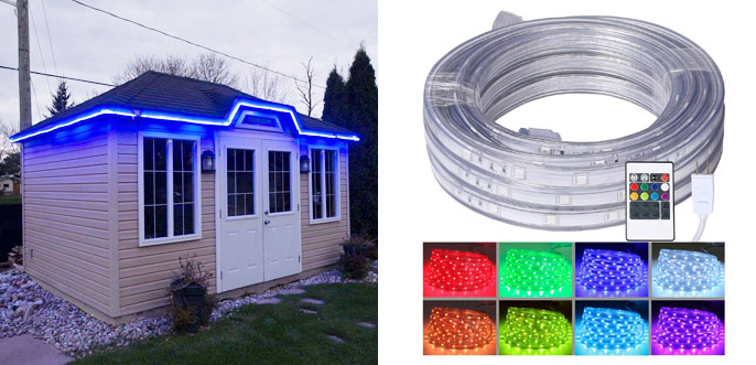 Best Led Rope Lights Color Changing Amp Static For