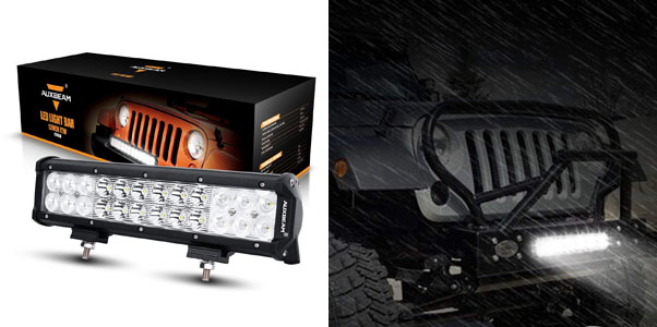 8. Auxbeam LED Light Bar