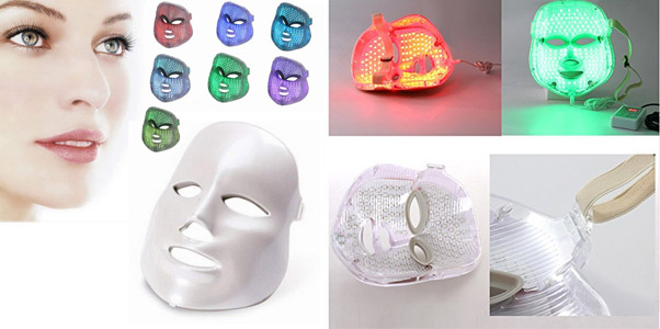8. Carer 7-Color LED Therapy Mask
