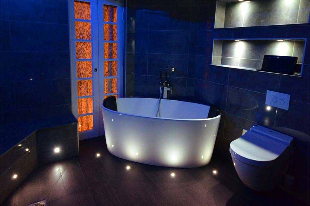 Bathroom Mood Lighting Inspiration