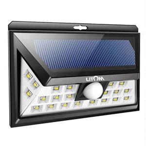 Litom 24 Led Solar Outdoor Flood Light