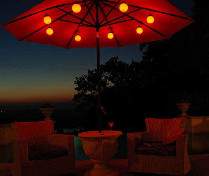 Best Solar Umbrella Lights