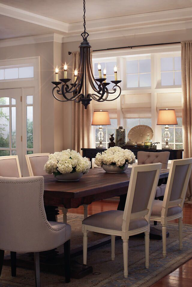 Dining Room Center Piece Light