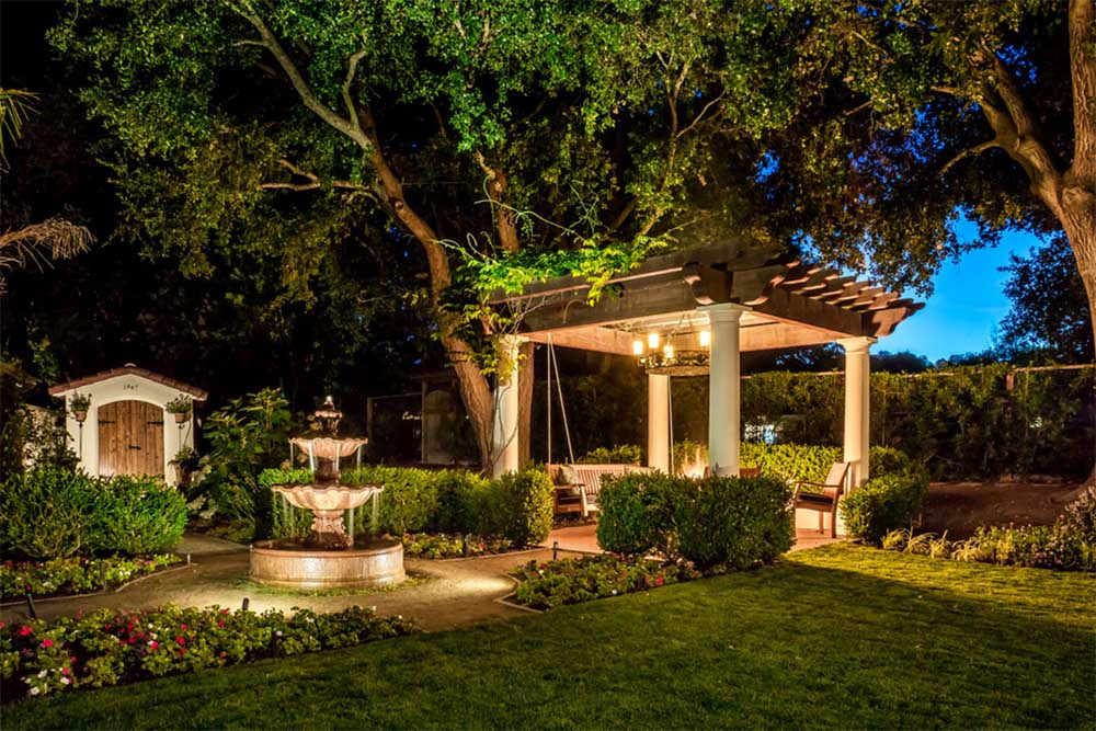 Garden and Fountain Lighting Inspiration