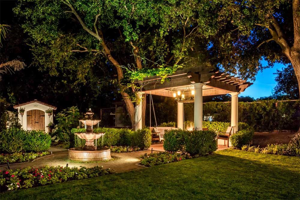 Garden and Fountain Lighting Inspiration