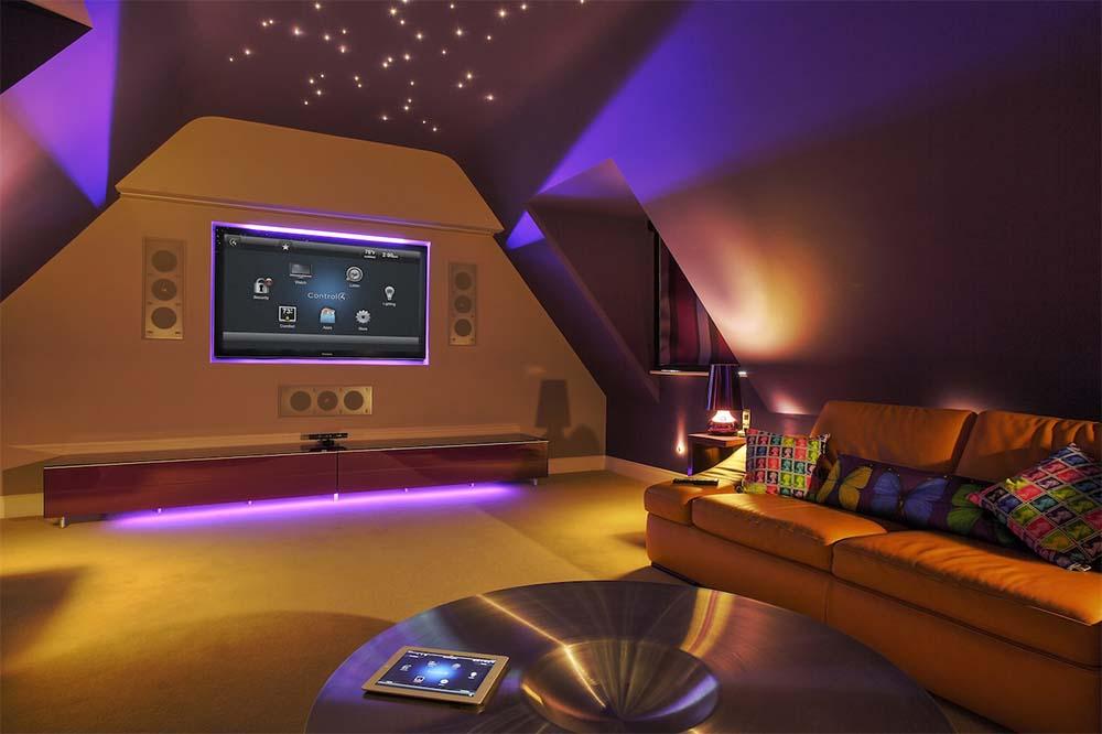 Living Room Mood Lighting Ideas