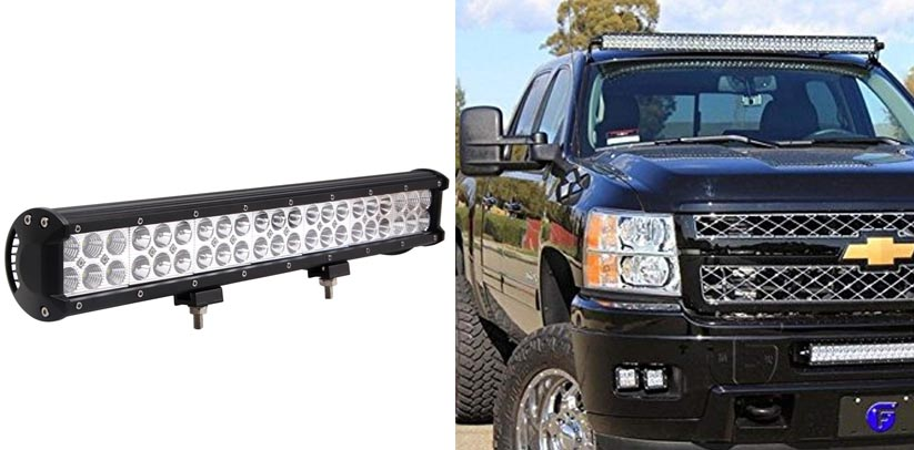 Senlips 126W 20inch Cree Bar Waterproof Truck Led Lights