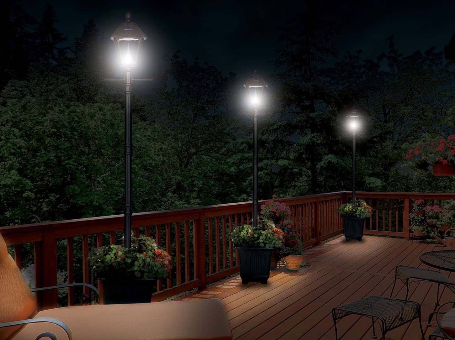 Solar Lamp Post Outdoor Lighting Ideas