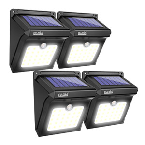 Baxia Led Solar Outdoor Motion Lights