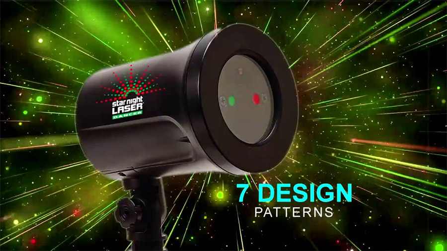 Star Night Laser Projector