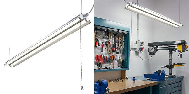 1. Hyperion Linkable 4 Foot Shop Light