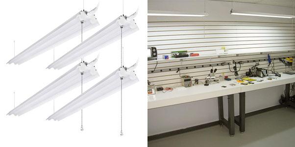 4.LeonLite 4 Foot Linkable Shop Lighting
