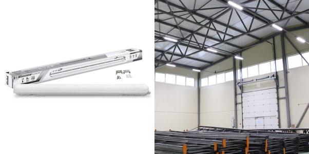 5. LLT 4-foot Garage Light Fixture