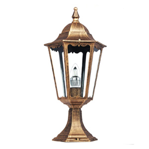 Kendal Bronze Outdoor Solar Led Post Lamp