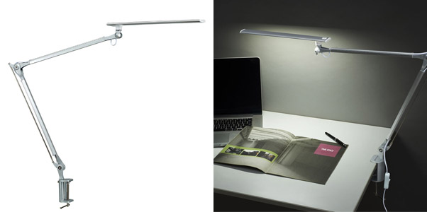 10. Phive CL-1 LED Architect Mountable Desk Lamp