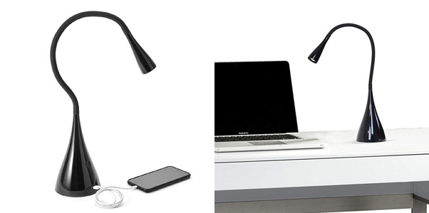 3. Newhouse Lighting Gooseneck Touch Dimmable LED Desk Lamp