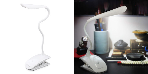 9. Hapurs 2 in 1 LED Desk Lamp