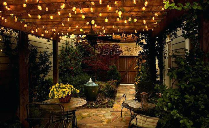 Cosy Outdoor Lighting