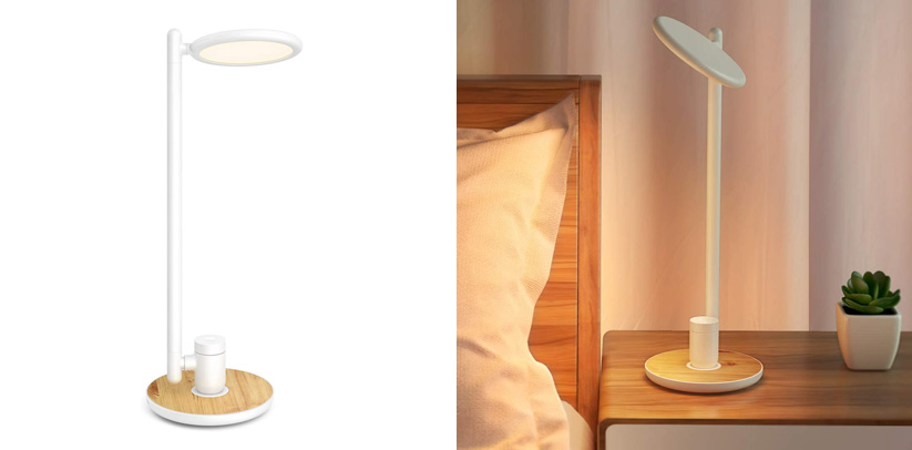 Gladle LED Desk Lamp with USB Charging Port