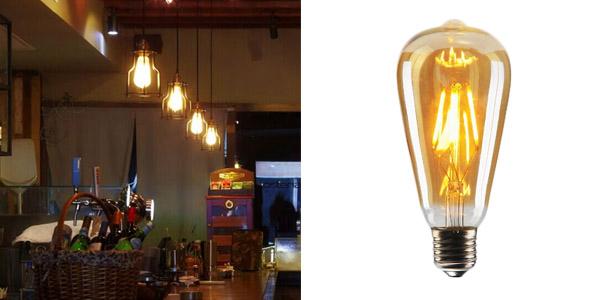1. CMYK Vintage Edison LED Bulb