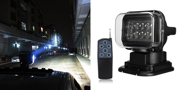 3. SUPAREE Rotating Remote Control LED Spot