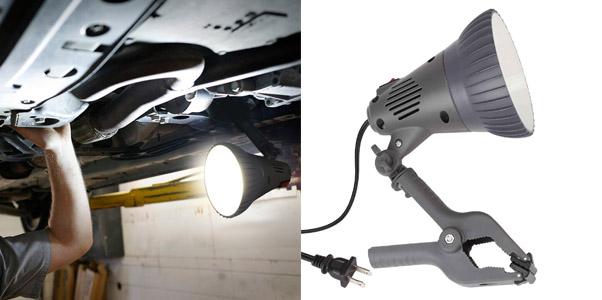 4. Torchstar ETL-Listed LED Clamp Work Lamp