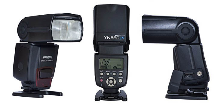 YONGNUO YN560 IV Wireless Flash for Nikon