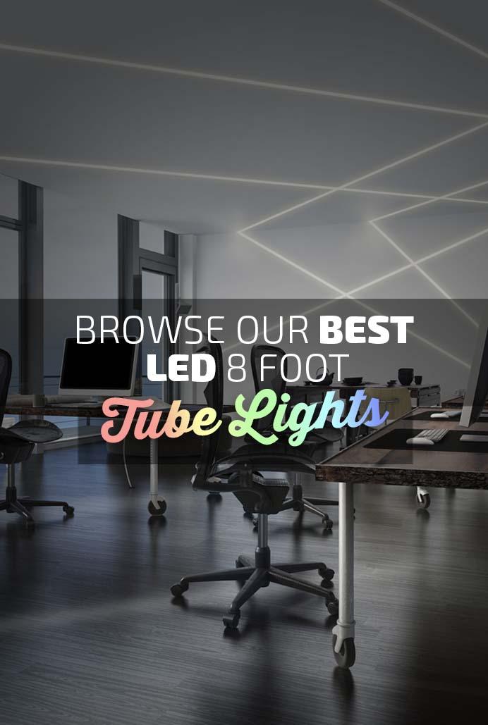 Best LED 8ft Tube Lights Banner