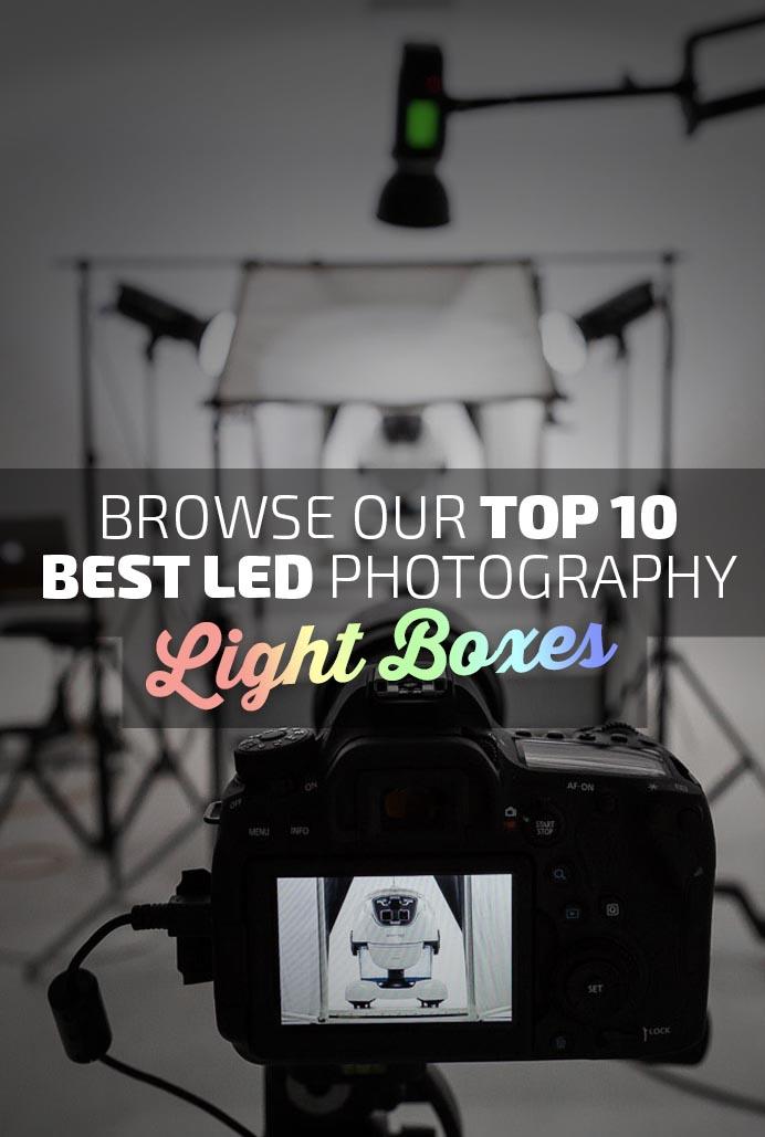 Best LED Light Boxes Banner
