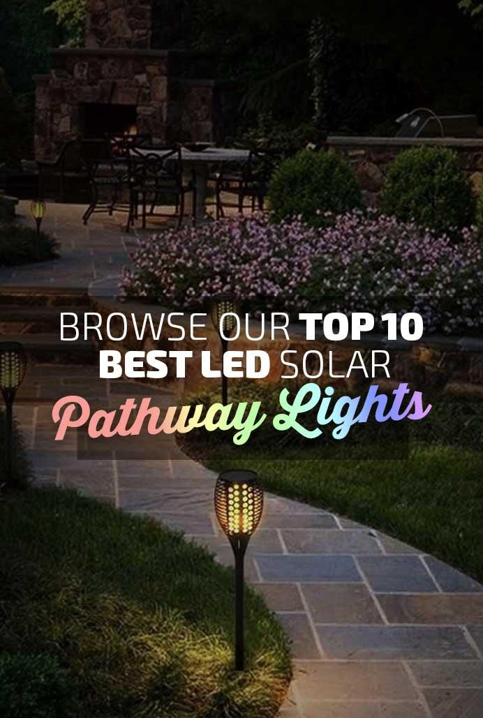 Best LED Solar Path Lights Banner
