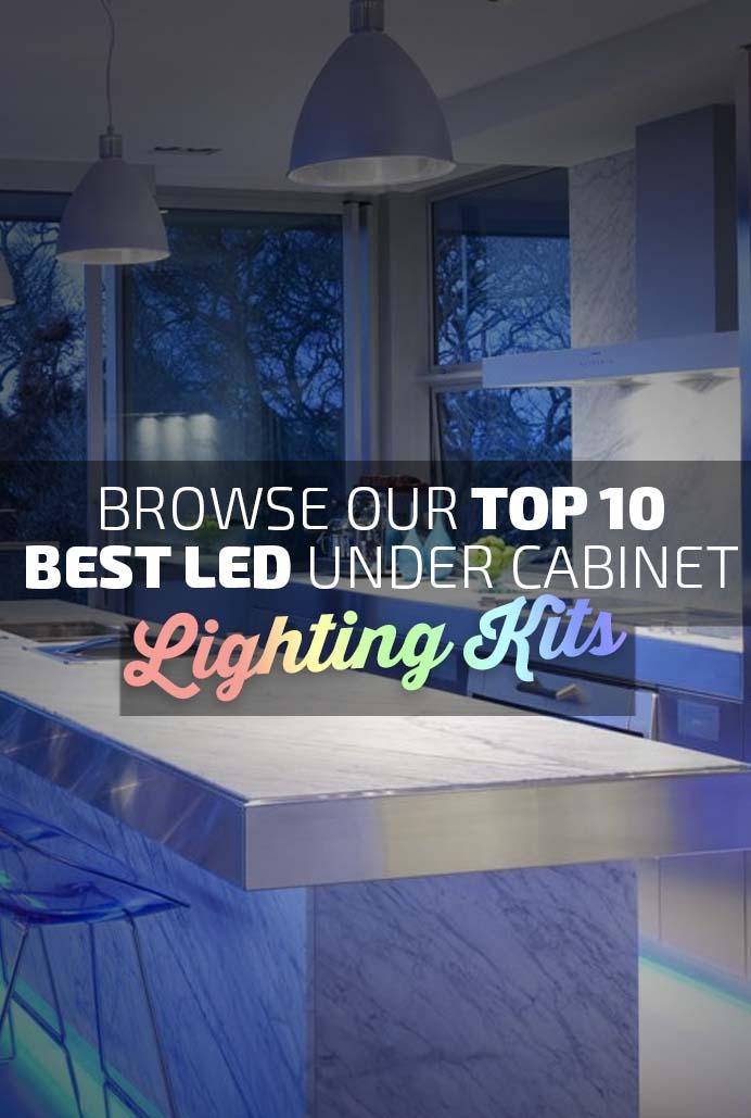 Best LED Under Cabinet Lighting Kits Banner