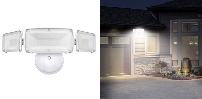 LEPOWER 3500LM Dusk to Dawn LED Security Lights Outdoor