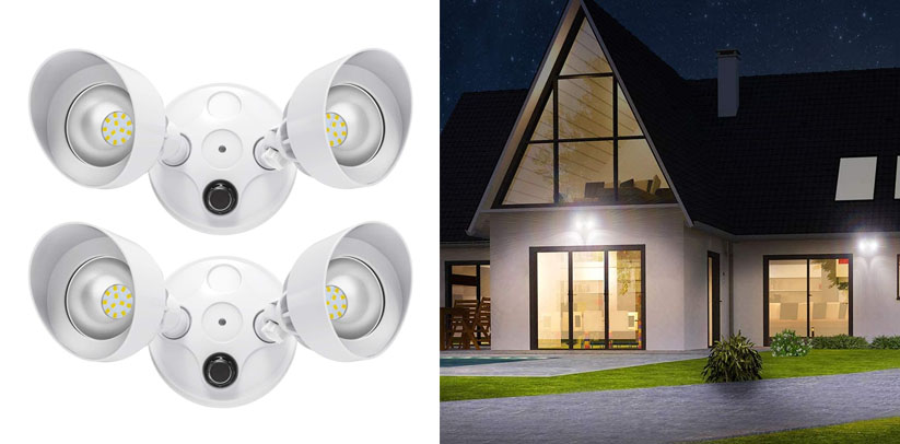 Onforu 2 Pack 30W Dusk to Dawn LED Security Lights