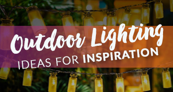 Outdoor Lighting Ideas Small Banner