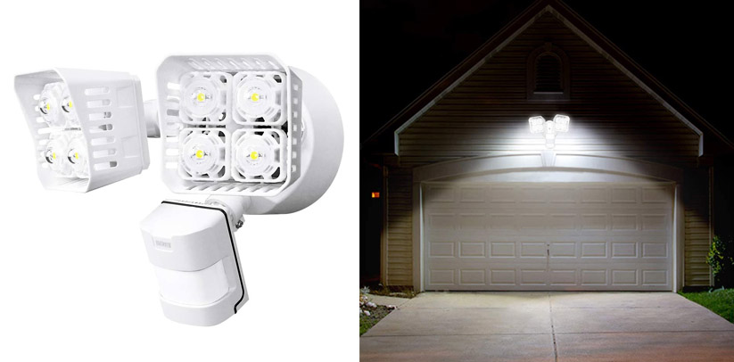 SANSI LED Security Motion Sensor Outdoor Security Lights