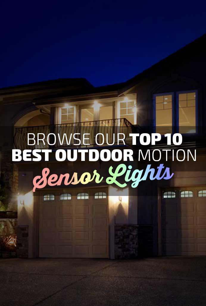 Top 10 Best Outdoor Sensor Motion Lights Banner Working