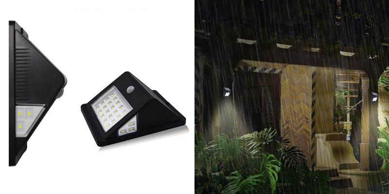5. SOLVAO Solar Motion Detector Shed Light Light