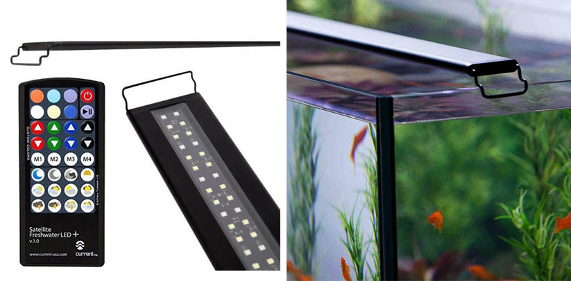 Current USA Satellite Freshwater LED Plus Light for Aquarium