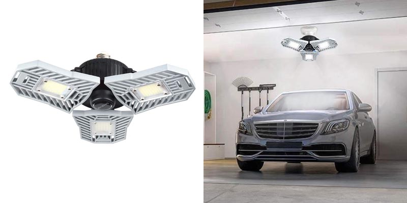 Falive LED Garage Lighting Deformable Mining Lamps