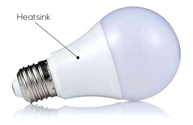 LED Light Bulb Heat Sink