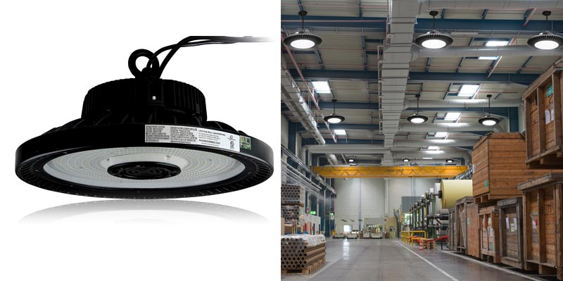 RuggedGrade Dimmable LED High Bay UFO Light