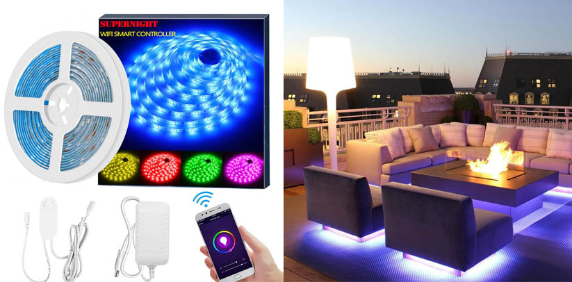 SUPERNIGHT Smart LED Strip Lights