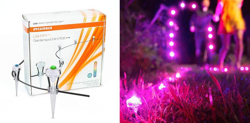 SYLVANIA LIGHTIFY ZigBee Outdoor Light Gardenspot LED Smart Lights