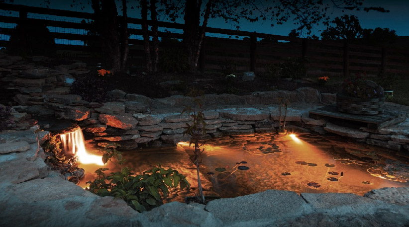 How To Install Pond Lights