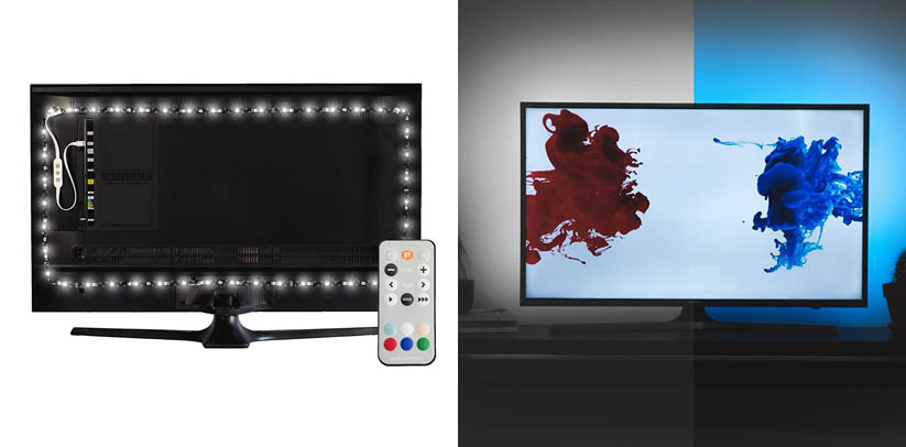 Luminoodle Professional Bias Lighting for HDTV